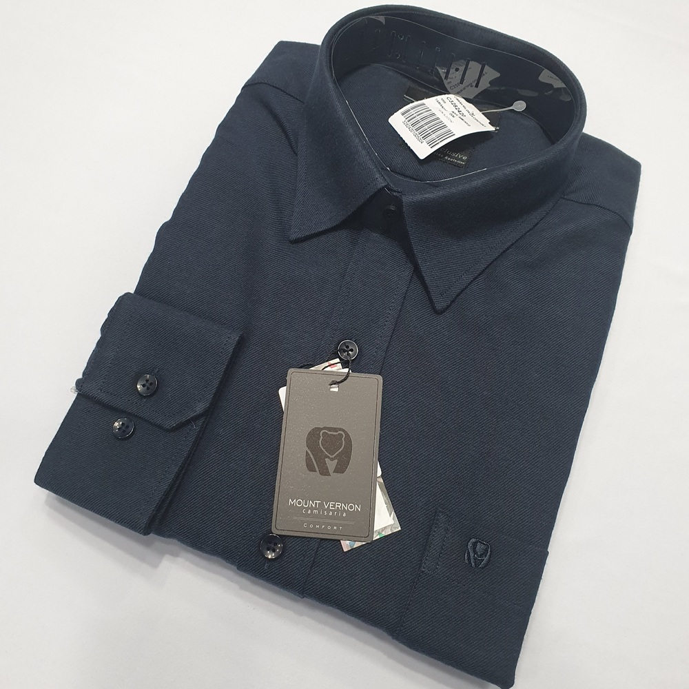 Camisa De Flanela Manga Longa - Mount Vernon  - Successful´Man - Moda Masculina