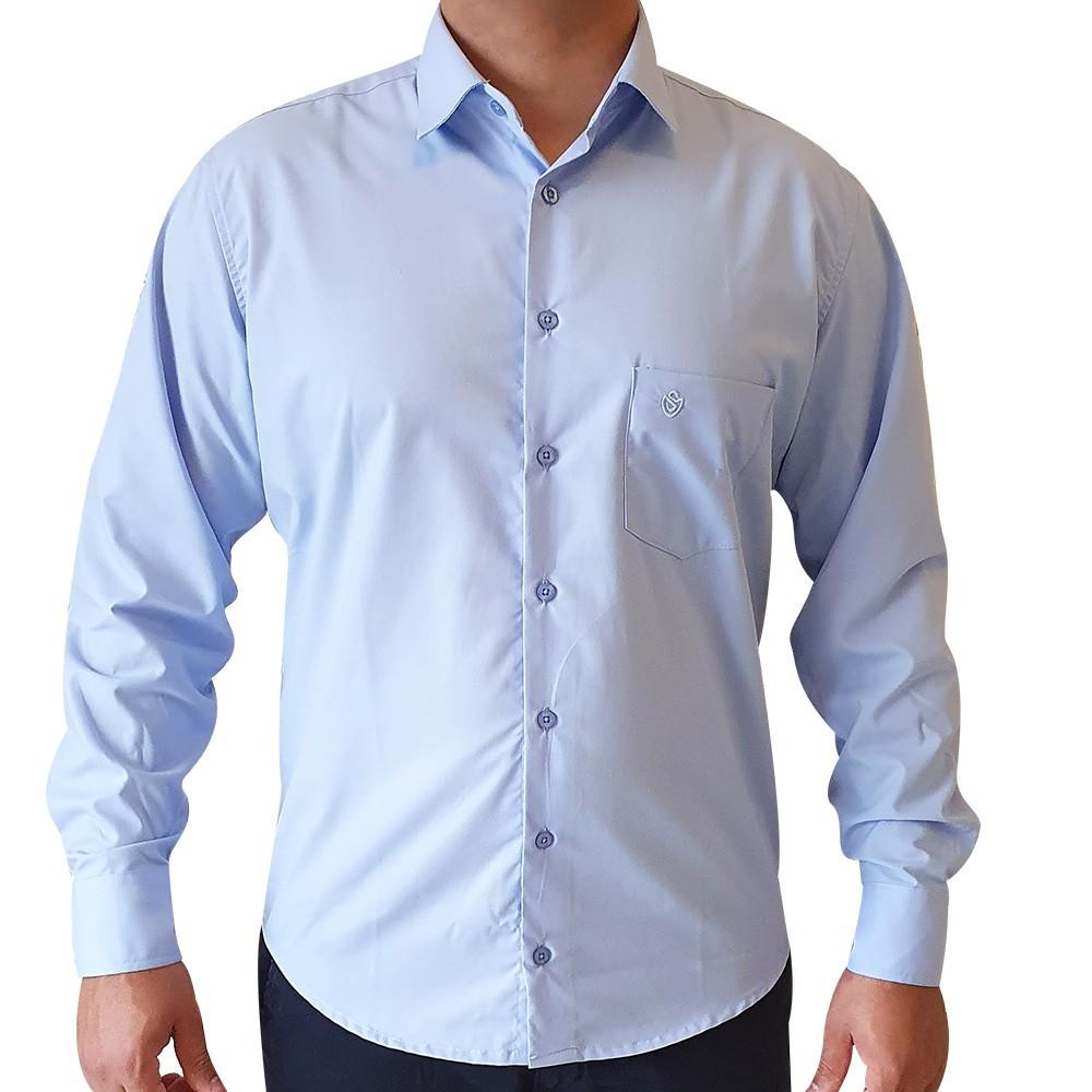 Camisa social ML em tricoline clássico