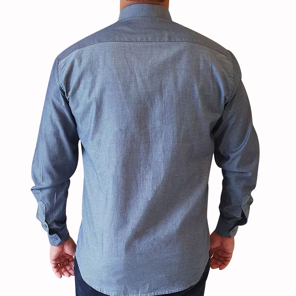 Camisa social ML maquinetada