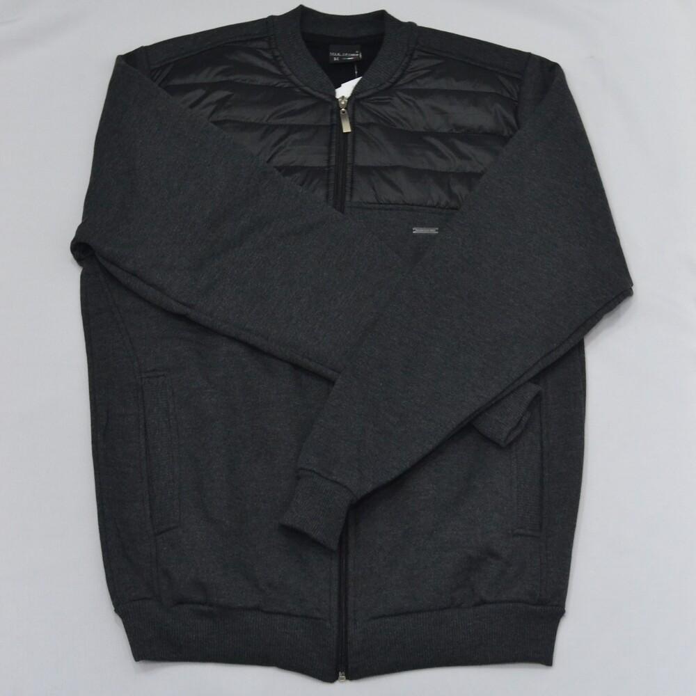 Jaqueta de Moletom Sport Masculina - Cinza  - Successful´Man - Moda Masculina