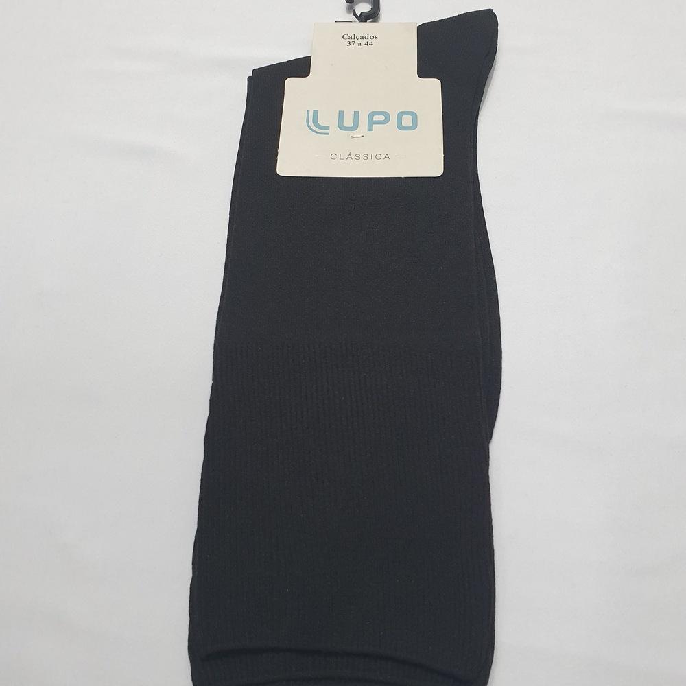 Meia Social Clássica Lupo - Preto  - Successful´Man - Moda Masculina