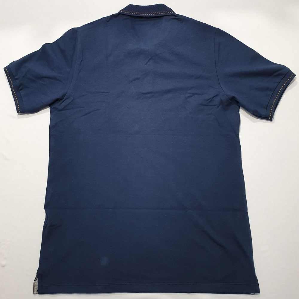 Polo MC Casual Slim Ogochi - Azul Marinho  - Successful´Man - Moda Masculina
