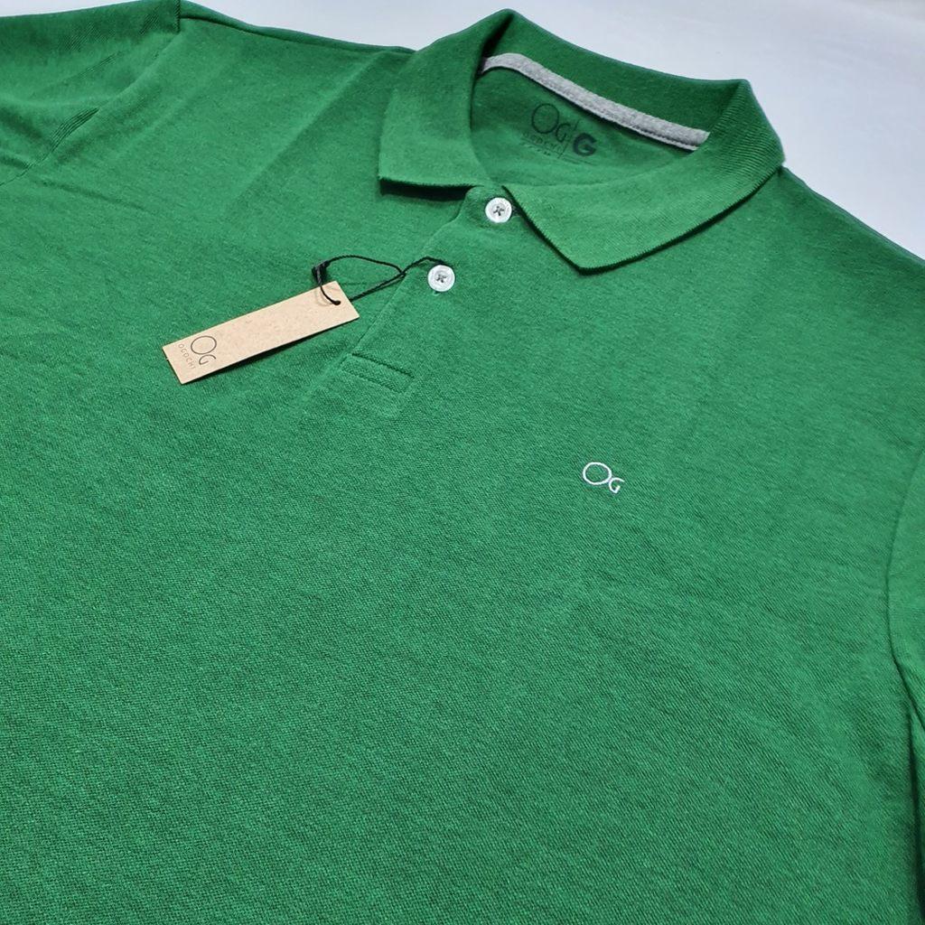 Polo MC Casual Slim Ogochi - Verde  - Successful´Man - Moda Masculina