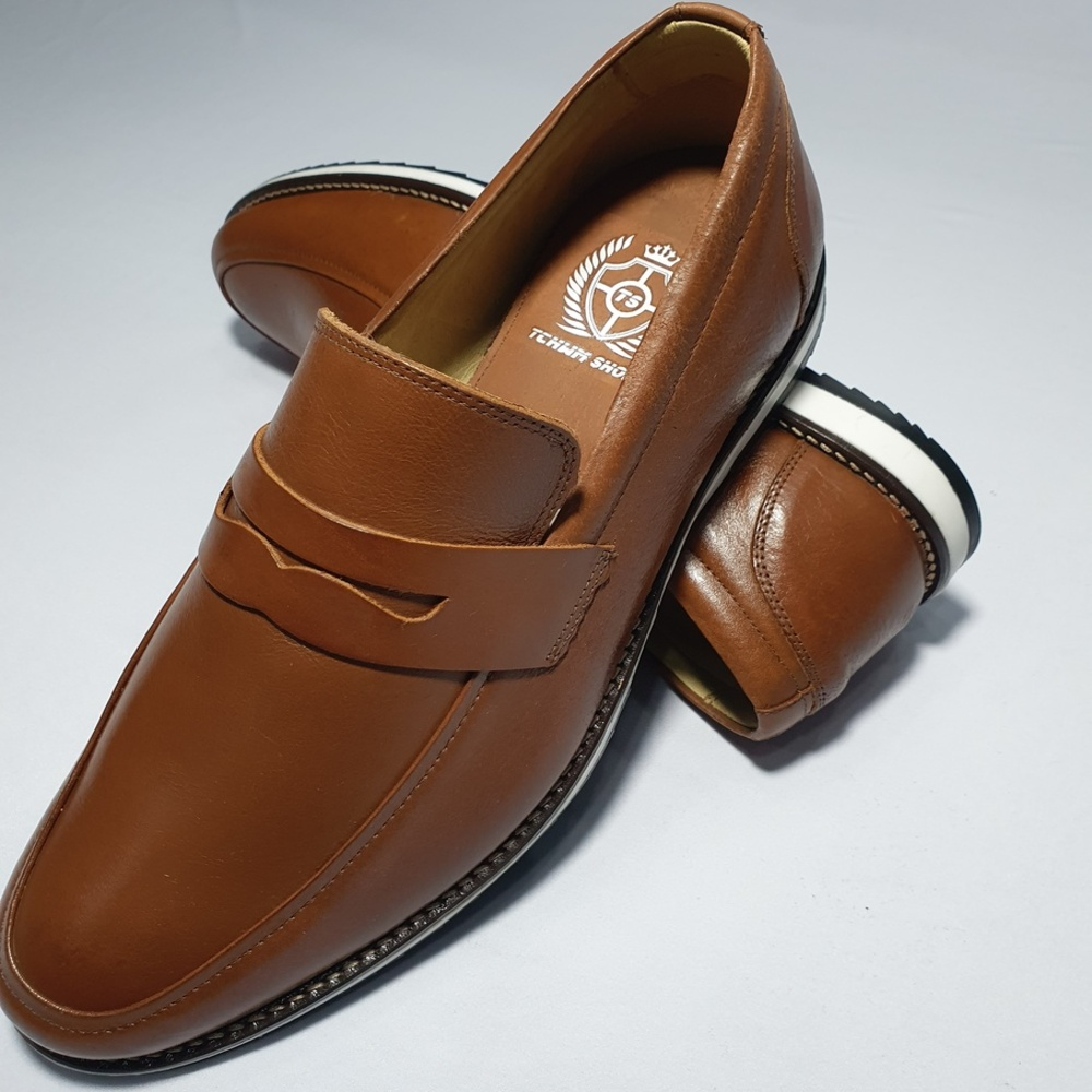 Sapato Casual Mocassim Loafer Couro Nobre - Castor  - Successful´Man - Moda Masculina