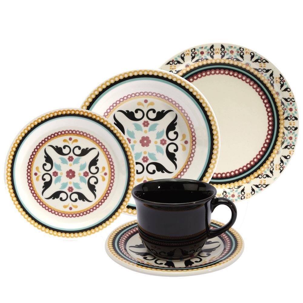 Aparelho de Jantar, Chá e Sobremesa Oxford