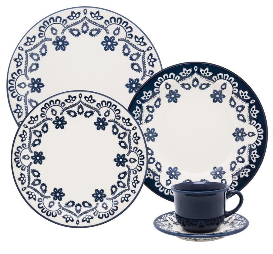 Aparelho de Jantar e Chá 30 Peças Oxford Daily Energy