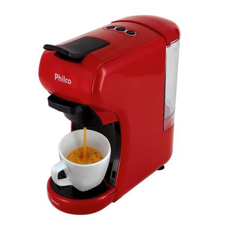Cafeteira Expresso Philco Multicápsula 3 em 1