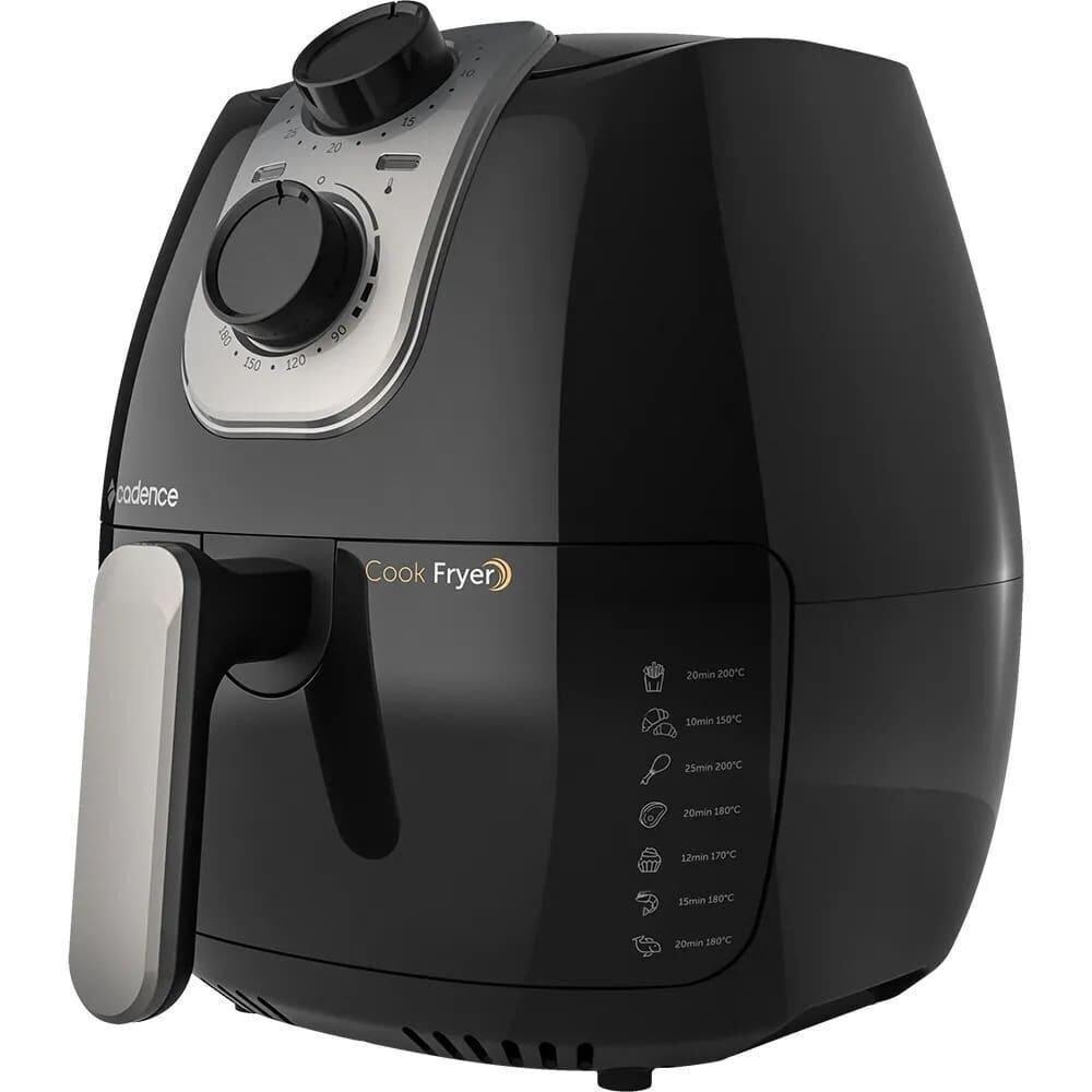 Fritadeira Cadence Air Fryer Preto 2.6L