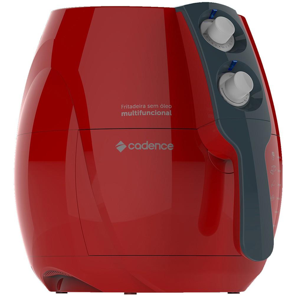 Fritadeira Sem Óleo Light Fryer  Frt541 Cadence  Vermelha