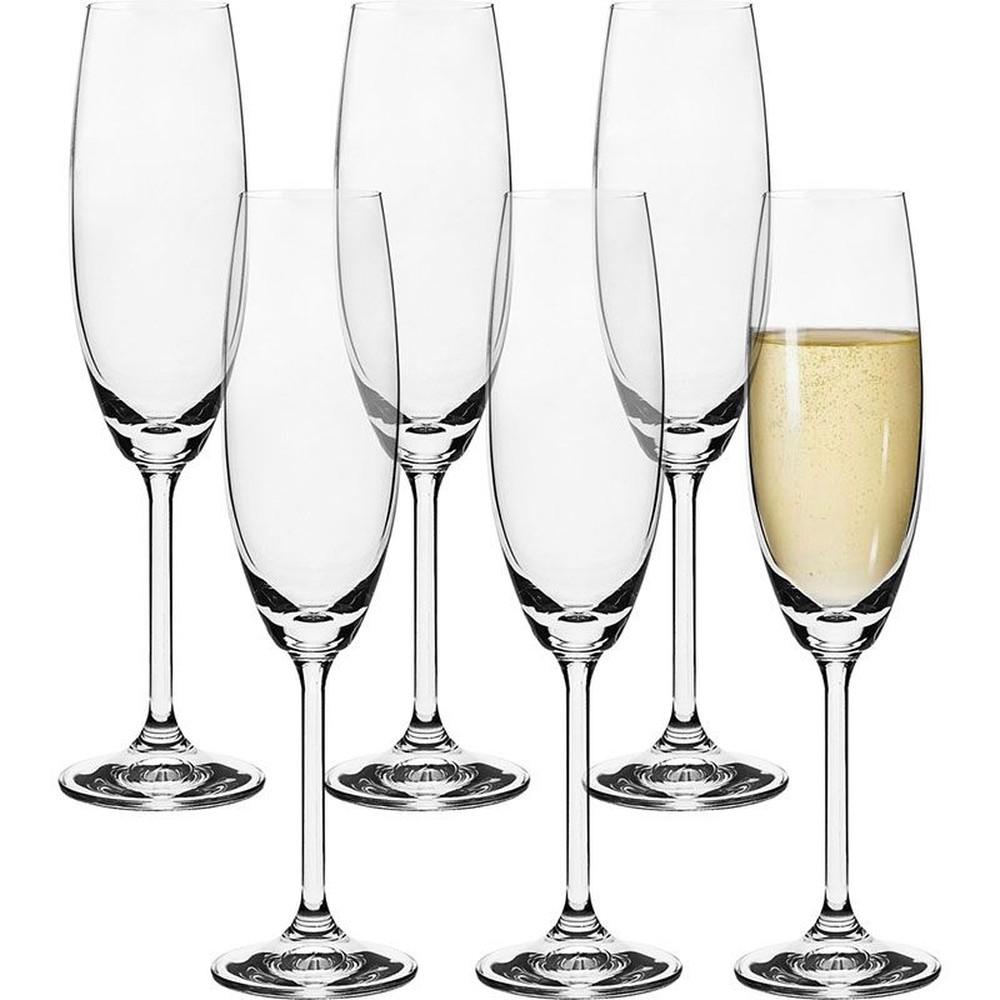 Jogo de Taças Champagne Cristal