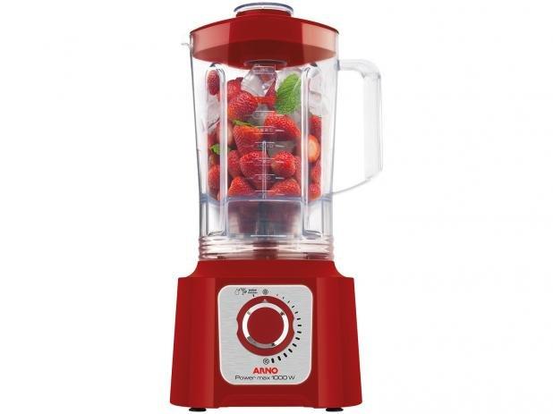 Liquidificador Arno Power Max 1,75L  Vermelho