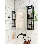 Armário Industrial em Metal para Banheiro