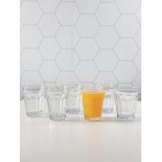 Conjunto de Copos Tim para Água de Vidro 270ml - 6 Peças