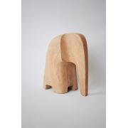Escultura Elefante Scandi - Natural