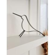 Escultura Pássaro em Metal
