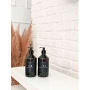 Frasco Black Banheiro 500ml - 2 Peças