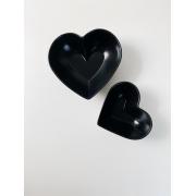 Kit Bowls de Coração em Cerêmica - 2 Peças