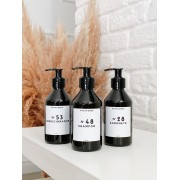 Mini Kit  Black Banheiro Completo 240ml - 3 Peças
