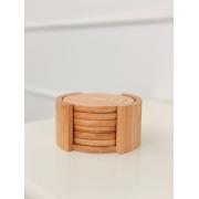 Porta Copos Bamboo