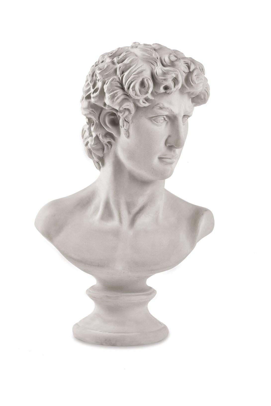 Busto Hélio em Cimento  - CASACOBRE