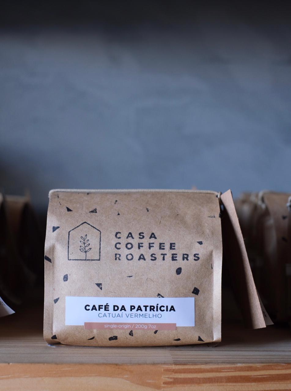 Café Moído - Catuaí Vermelho - 200g  - CASACOBRE