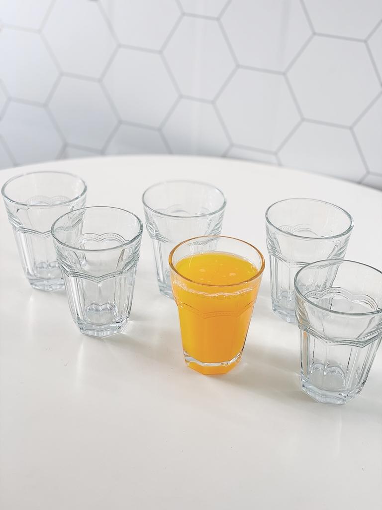 Conjunto de Copos Tim para Água de Vidro 270ml - 6 Peças  - CASACOBRE