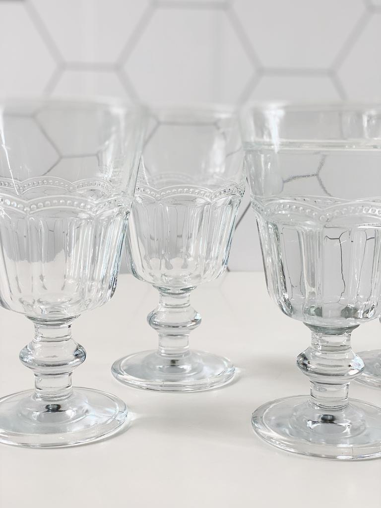 Conjunto de Taças Tim para Água de Vidro 225ml - 6 Peças  - CASACOBRE
