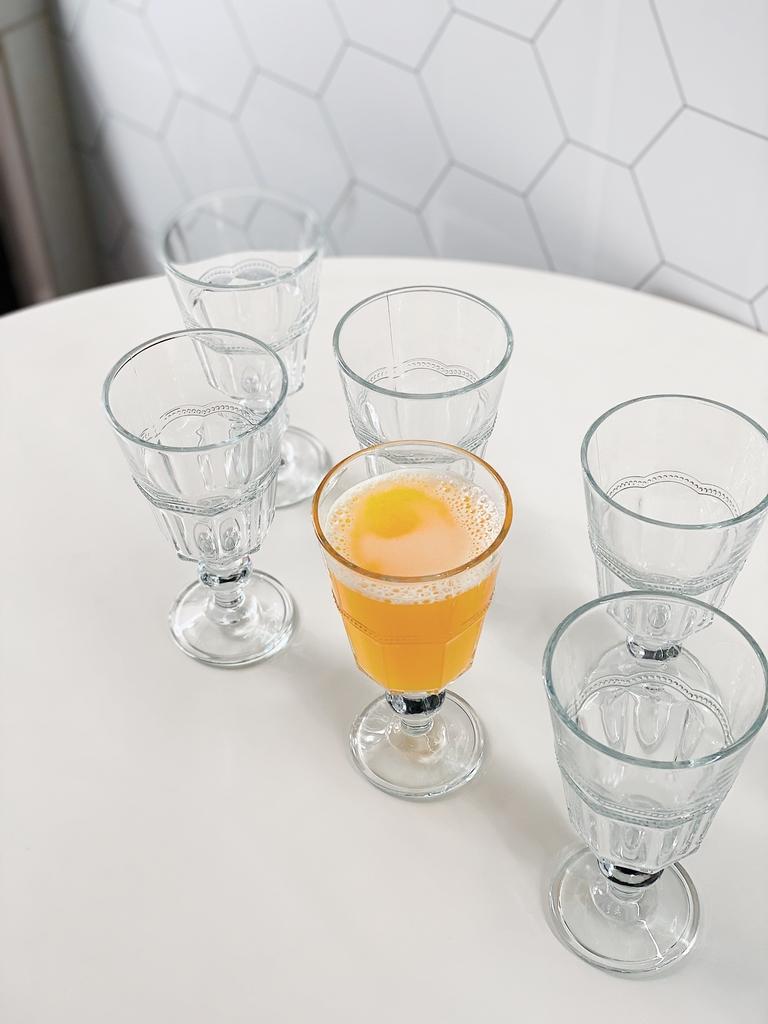 Conjunto de Taças Tim para Água de Vidro 325ml - 6 Peças  - CASACOBRE