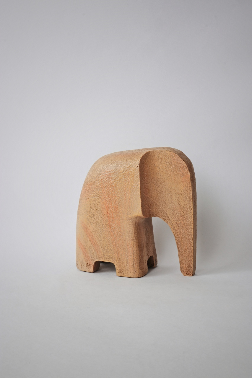 Escultura Elefante Scandi - Natural  - CASACOBRE