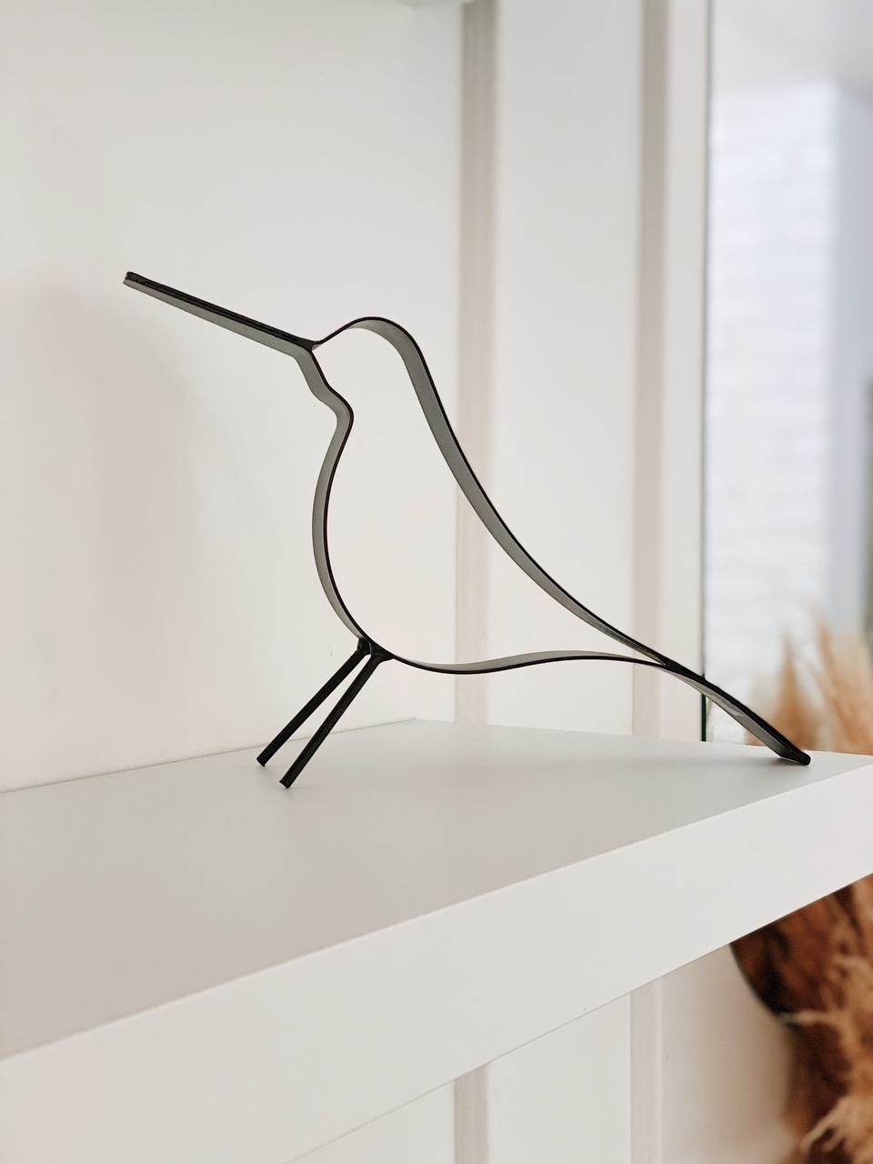 Escultura Pássaro em Metal  - CASACOBRE