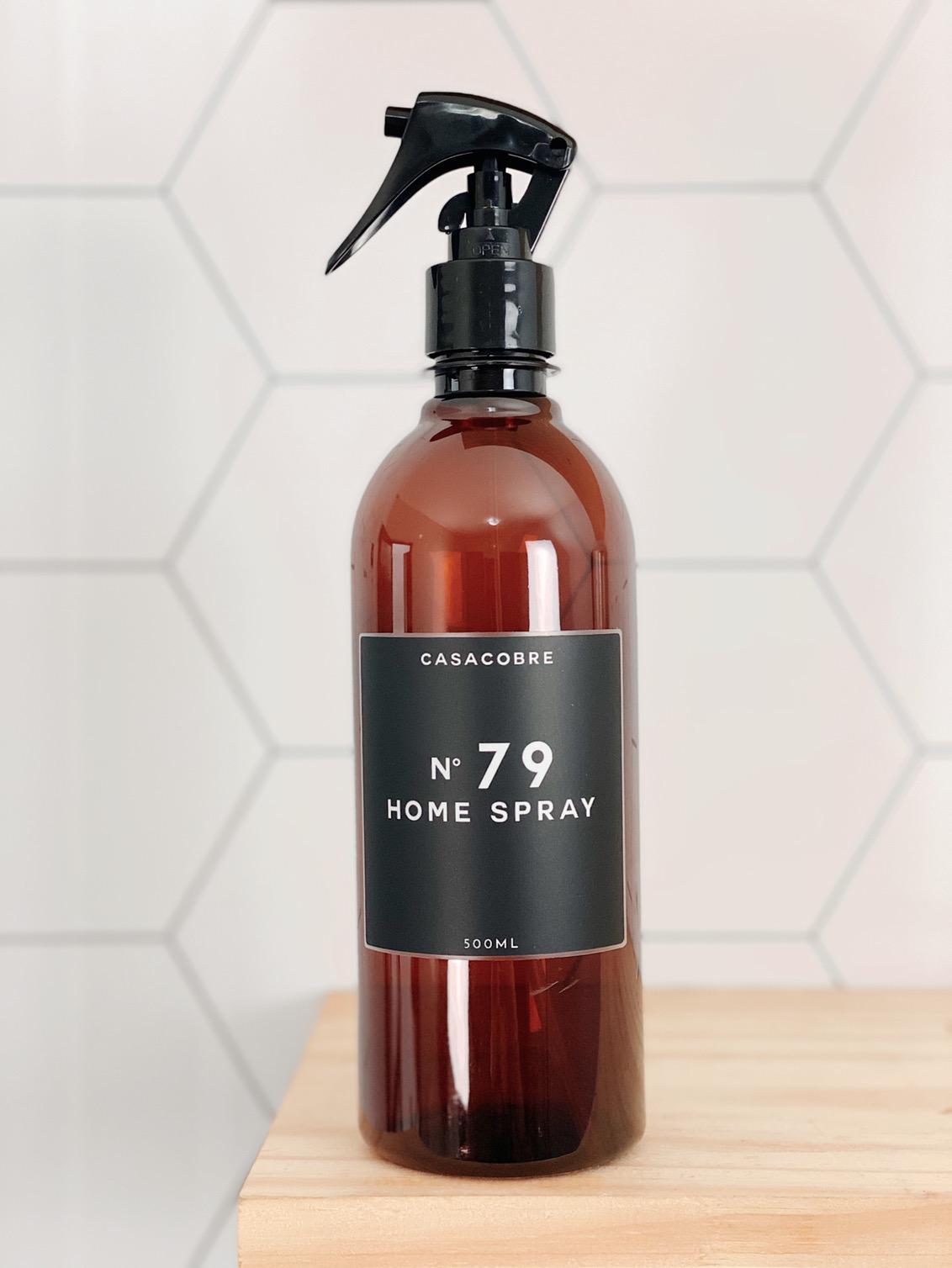 Frasco Âmbar Home Spray- 500ml  - CASACOBRE