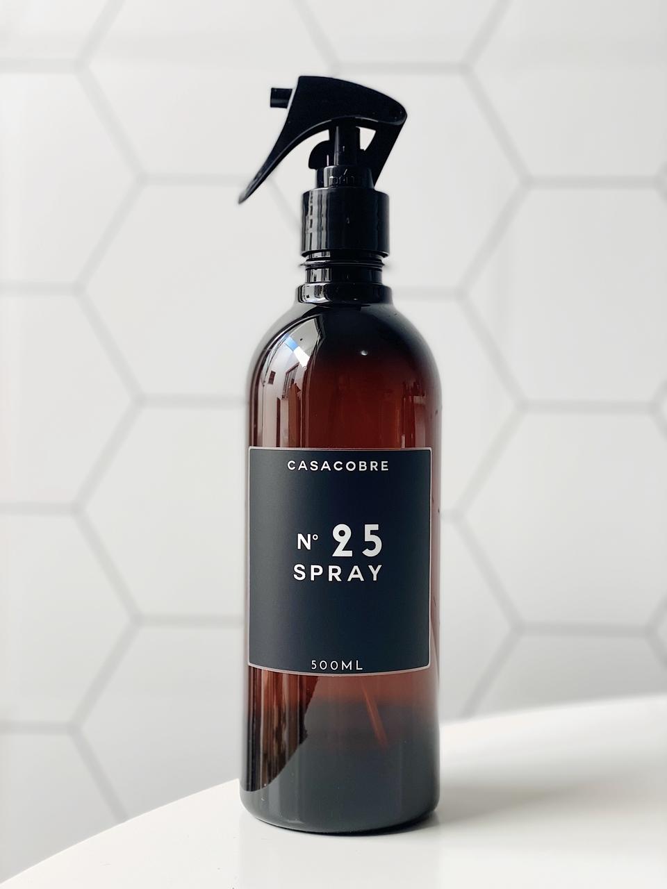 Frasco Âmbar Spray - 500ml  - CASACOBRE