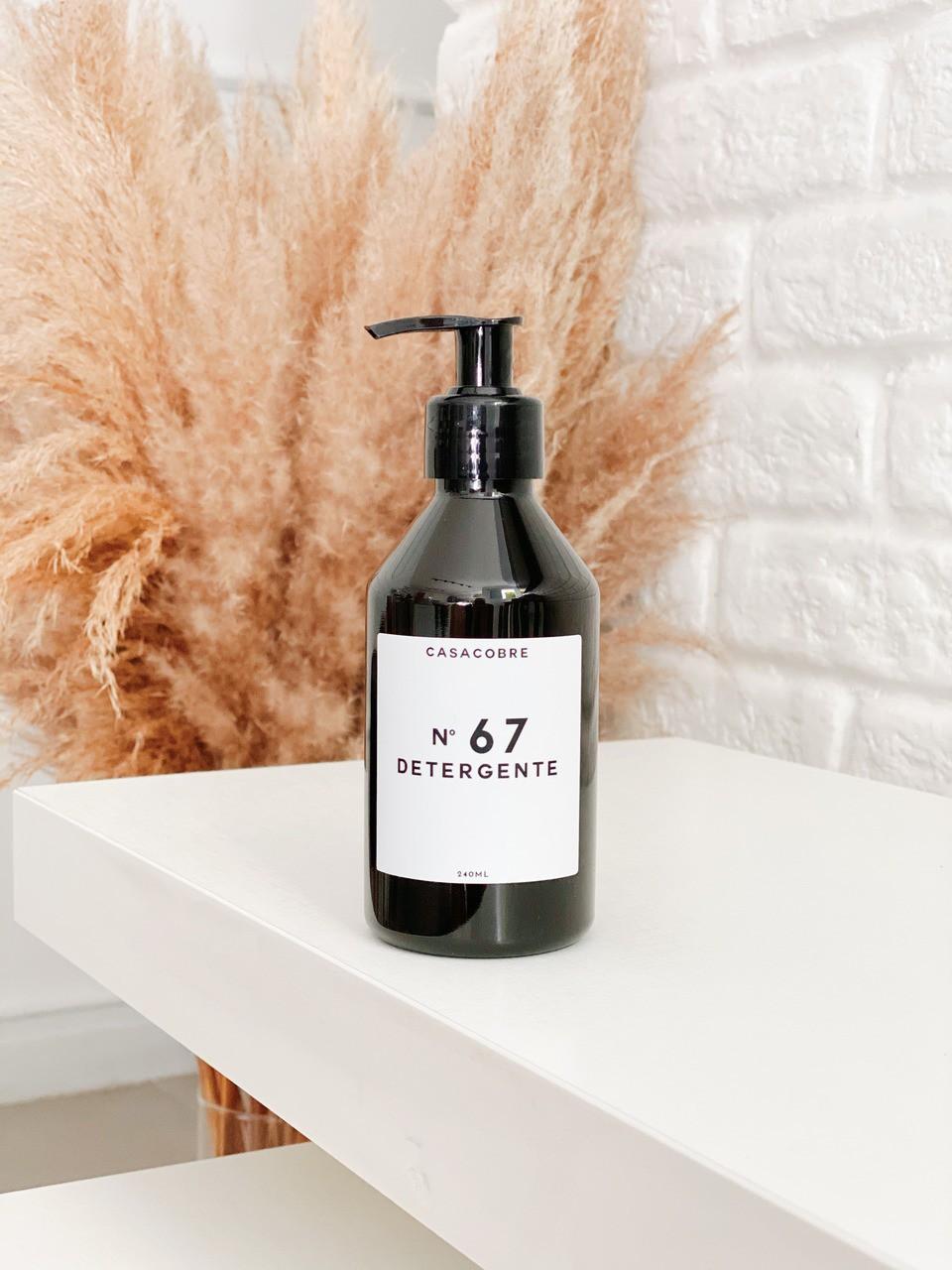 Mini Frasco Black Detergente - 240ml   - CASACOBRE
