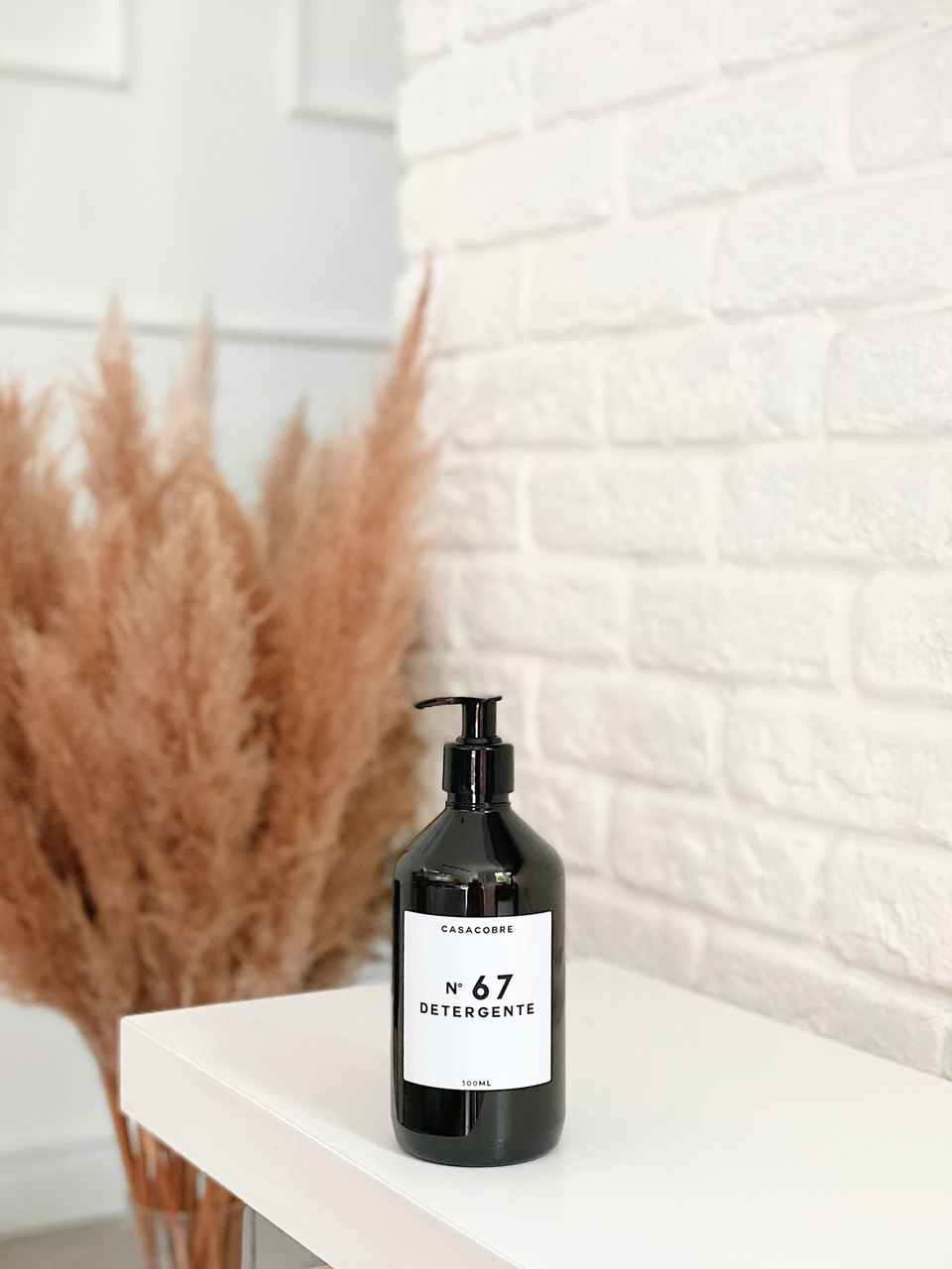Frasco Black Detergente - 500ml  - CASACOBRE