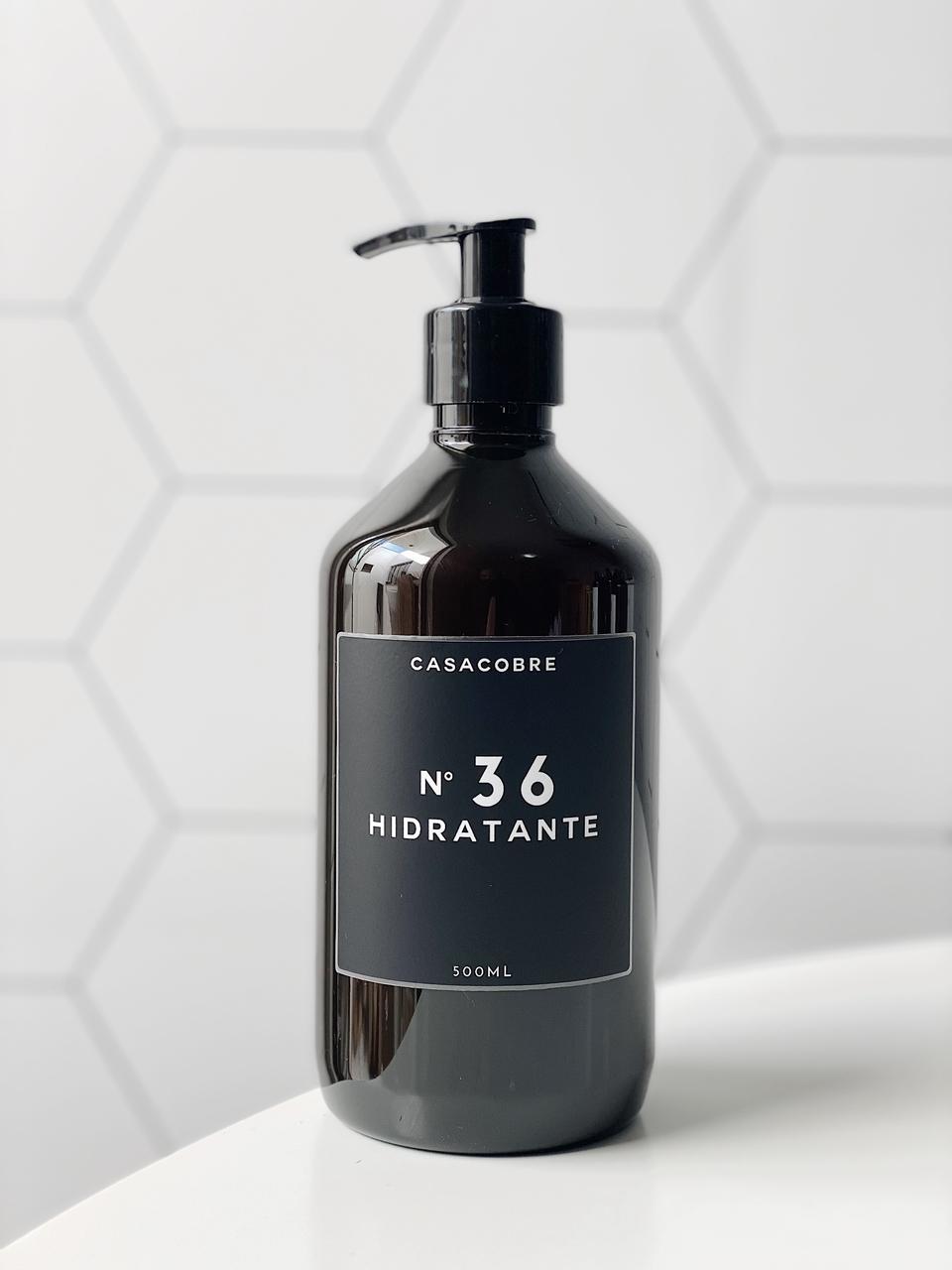 Frasco Black Hidratante - 500ml  - CASACOBRE