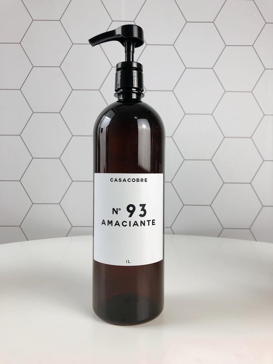 Frasco Pet Âmbar Lavanderia 1L - Amaciante  - CASACOBRE