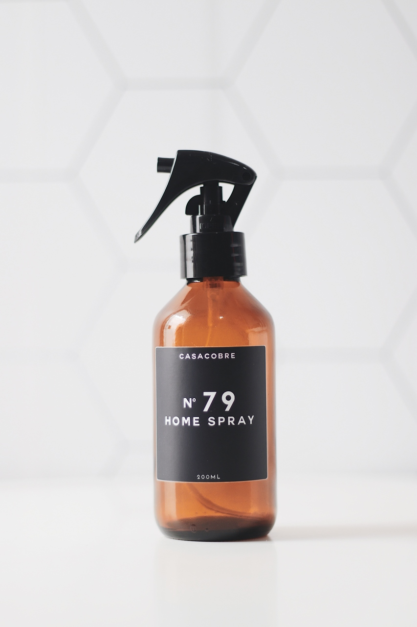 Frasco Vidro Home Spray - 200ml  - CASACOBRE