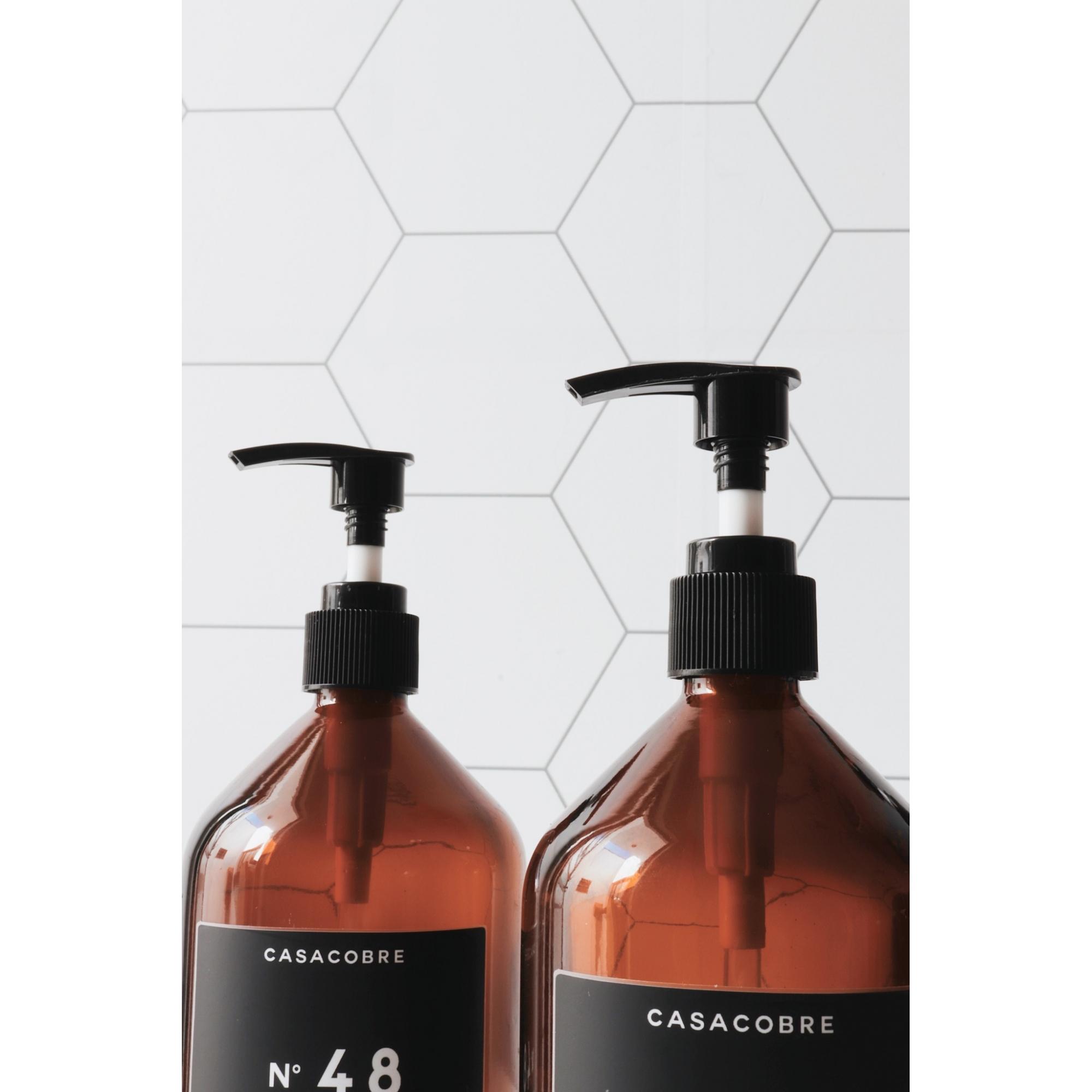 Frasco Vidro Sabonete - 500ml  - CASACOBRE