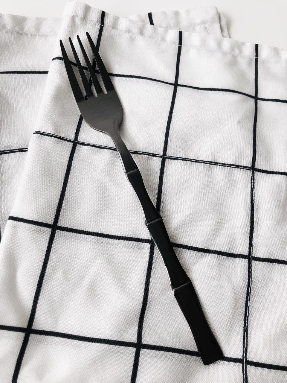 Garfo de Mesa Bambu Black  - CASACOBRE