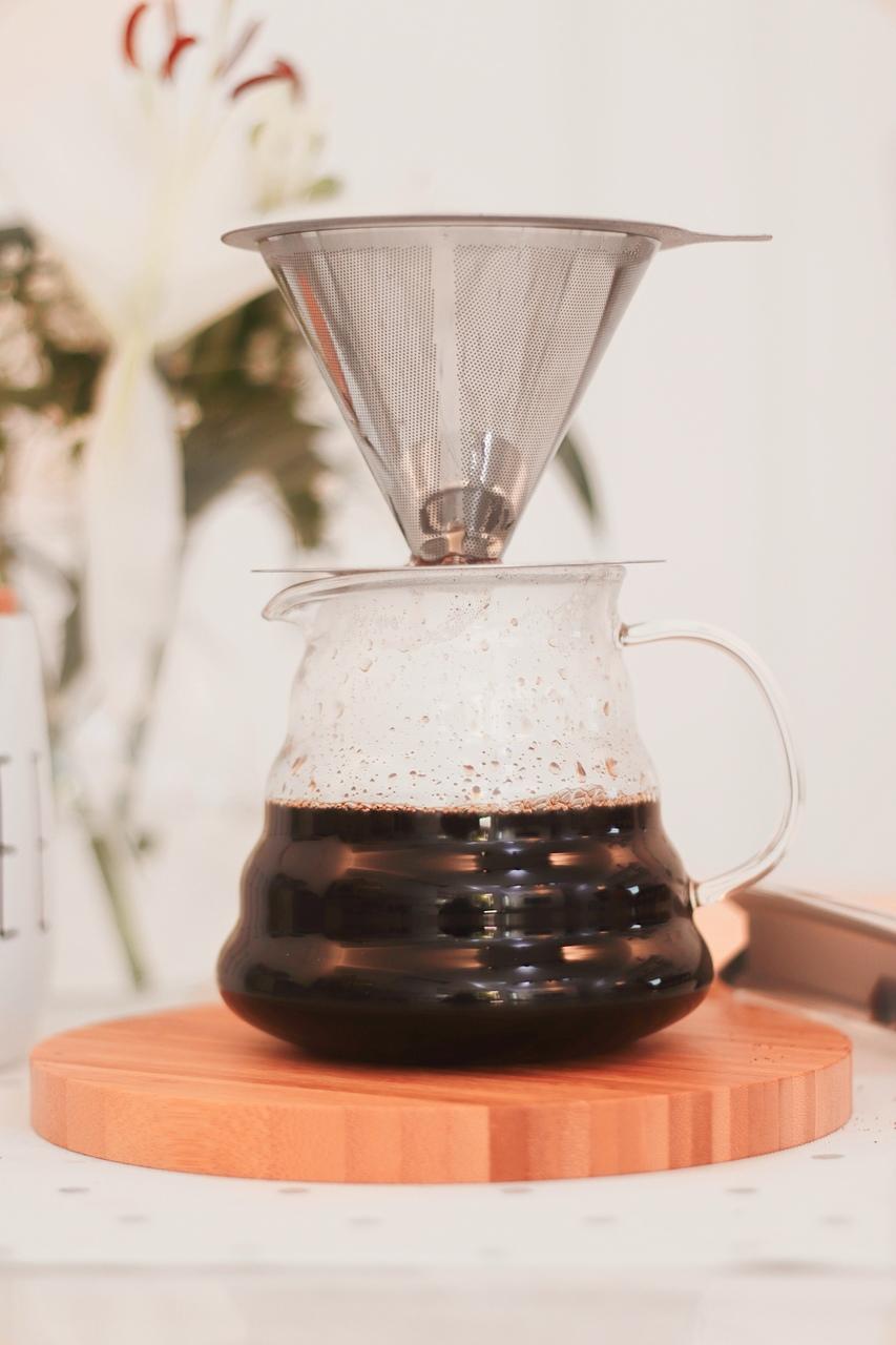 Jarra Para Café Com Tampa - 600ml  - CASACOBRE