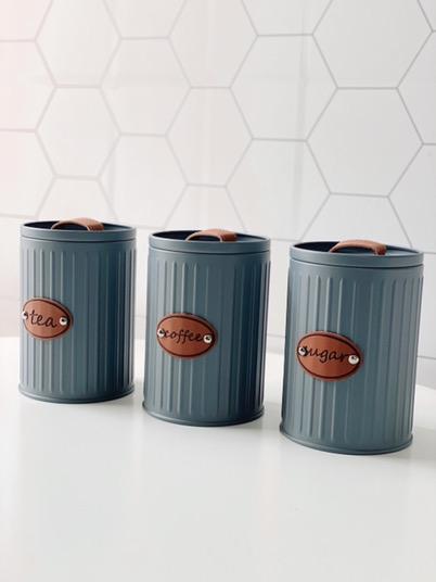 Kit Latas de Mantimentos Industrial - 3 peças  - CASACOBRE