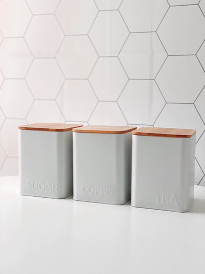Kit Latas de Mantimentos Nordic - 3 peças  - CASACOBRE