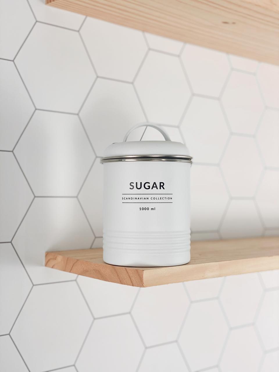 Lata de Mantimentos Copenhag Sugar - 1L  - CASACOBRE