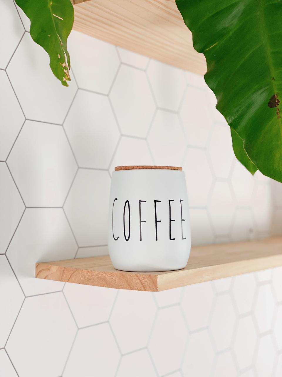 Lata de Mantimentos OAK Coffee - 850ml  - CASACOBRE