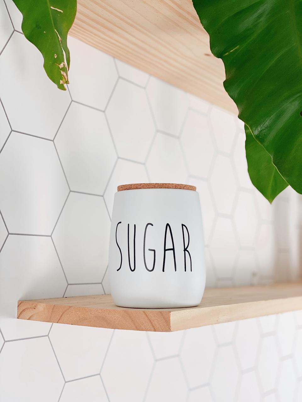 Lata de Mantimentos OAK Sugar - 850ml  - CASACOBRE