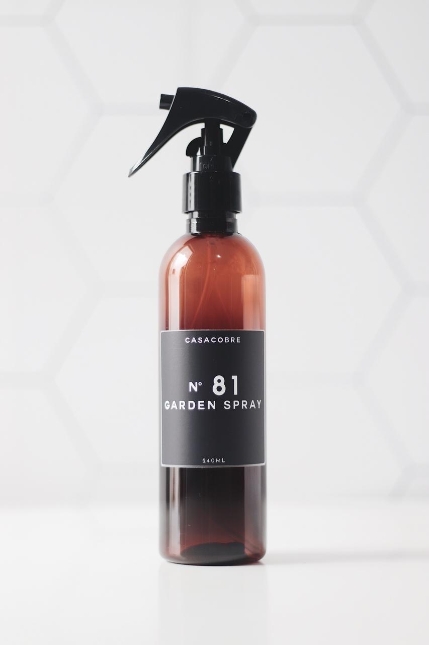 Mini Frasco Âmbar Garden Spray - 240ml  - CASACOBRE