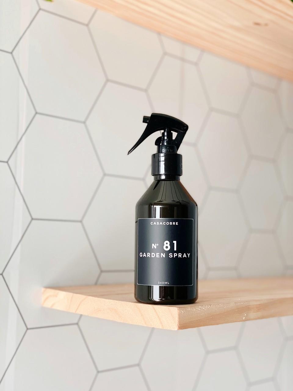 Mini Frasco Black Garden Spray - 240ml  - CASACOBRE