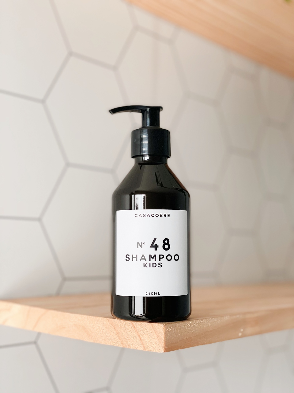 Mini Frasco Black Shampoo Kids - 240ml  - CASACOBRE