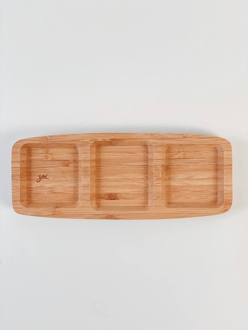 Petisqueira Tripla Bamboo  - CASACOBRE