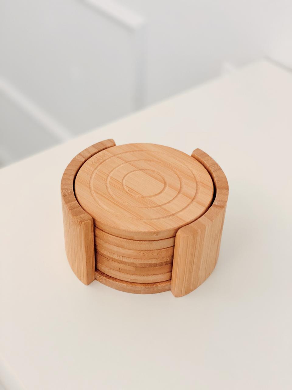 Porta Copos Bamboo  - CASACOBRE